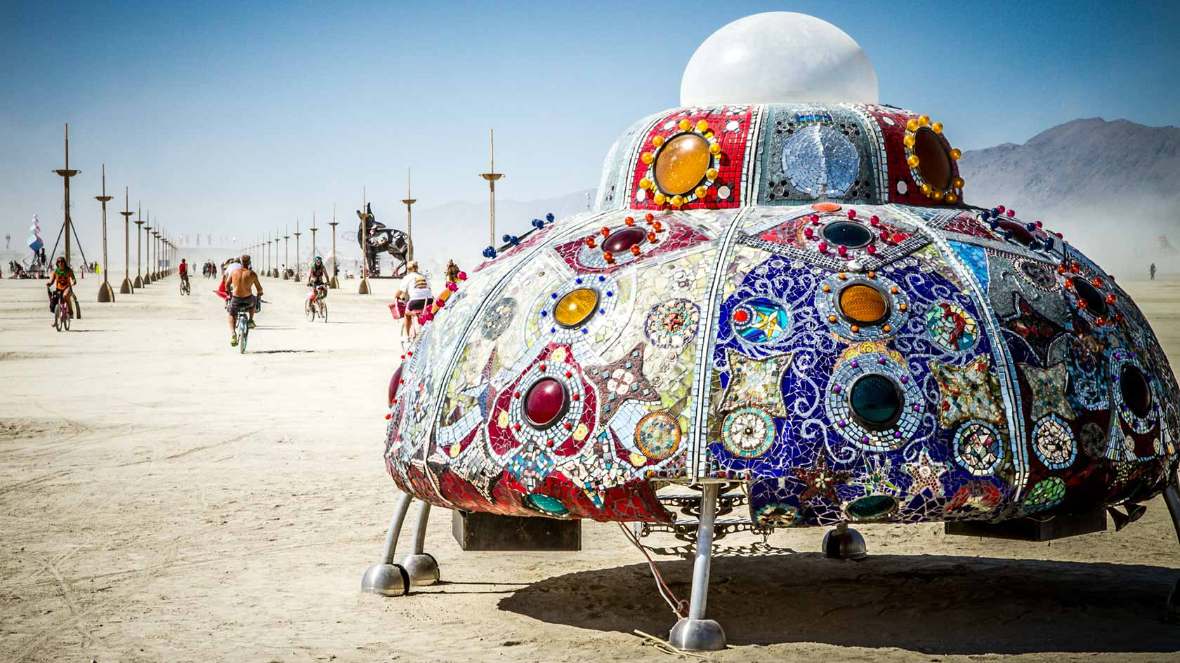 Viaggio al centro del Burning Man – La photogallery