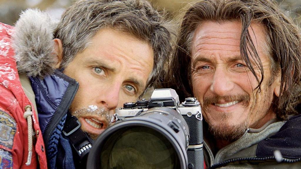 i sogni segreti di Walter Mitty - Ben Stiller e Sean Penn