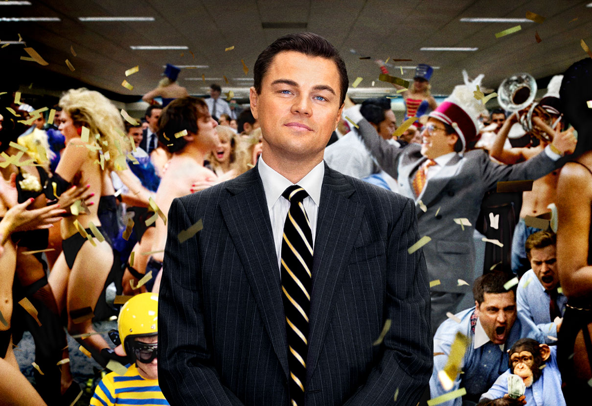 The Wolf of Wall Street - Leonardo Di Caprio