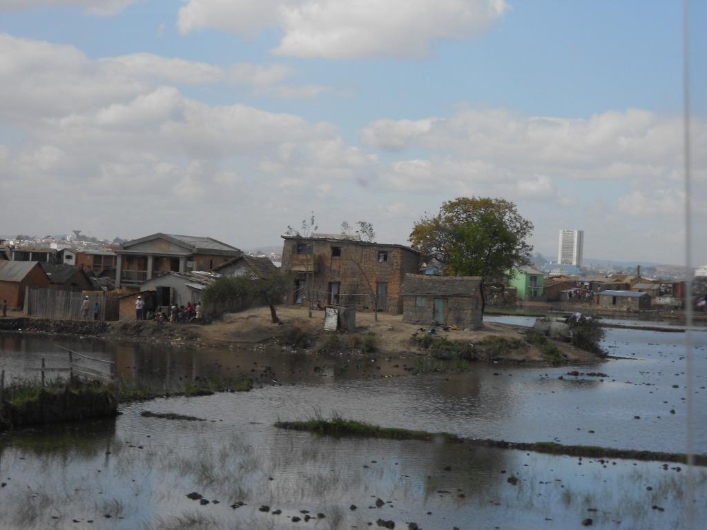 Risaie alla periferia di Tana - Madagascar