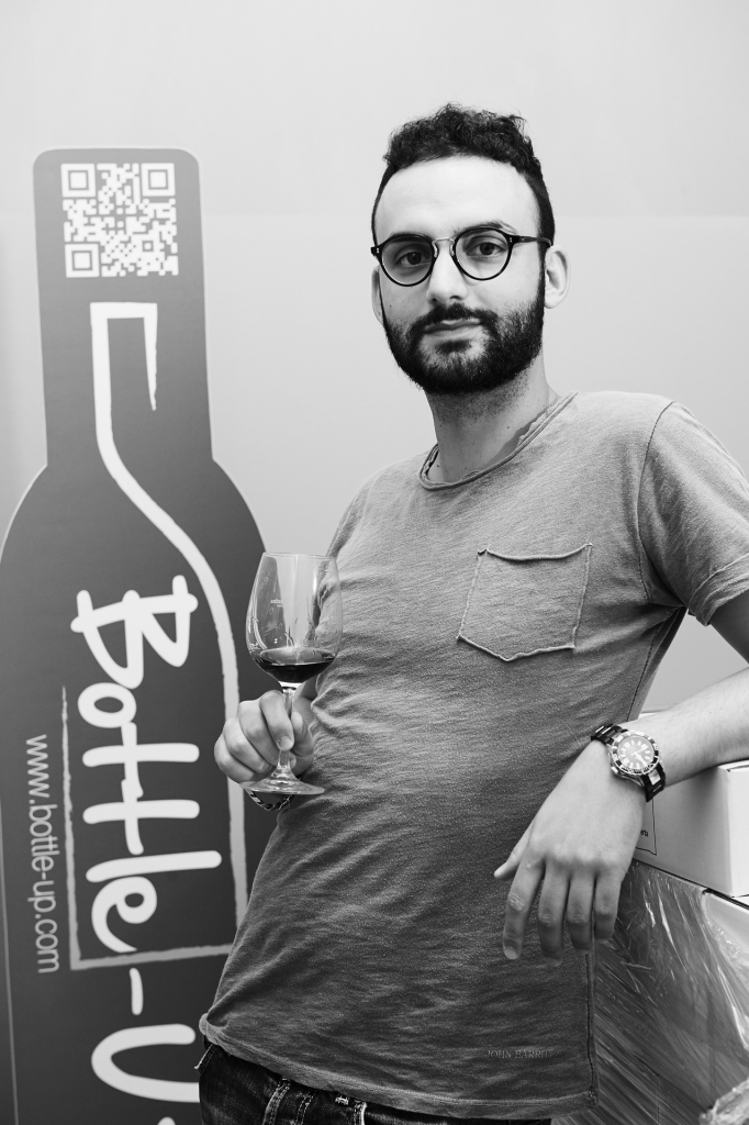 Francesco Farnetani creatore di Bottle-up