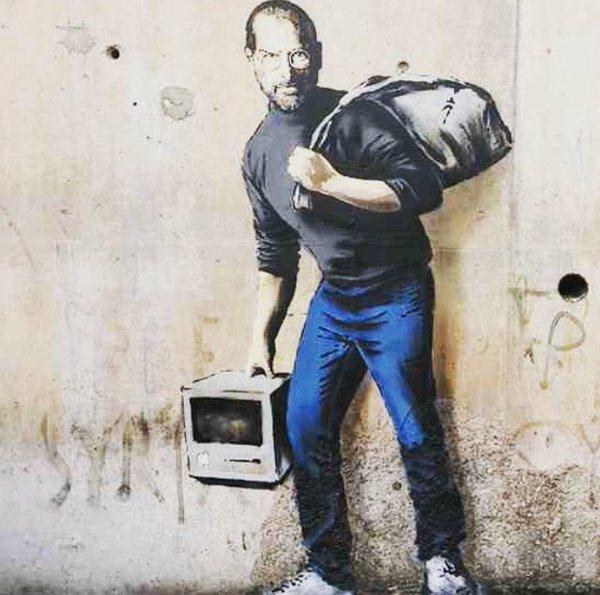 banksy-steve-jobs-calais