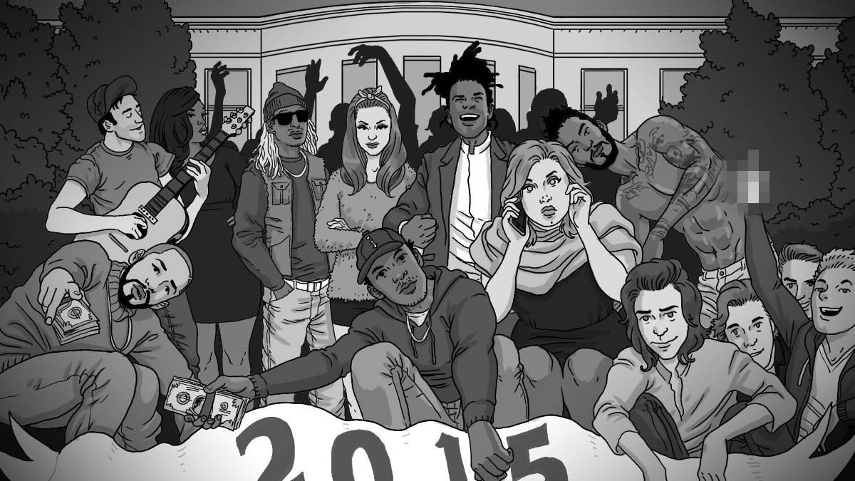 i migliori album del 2015