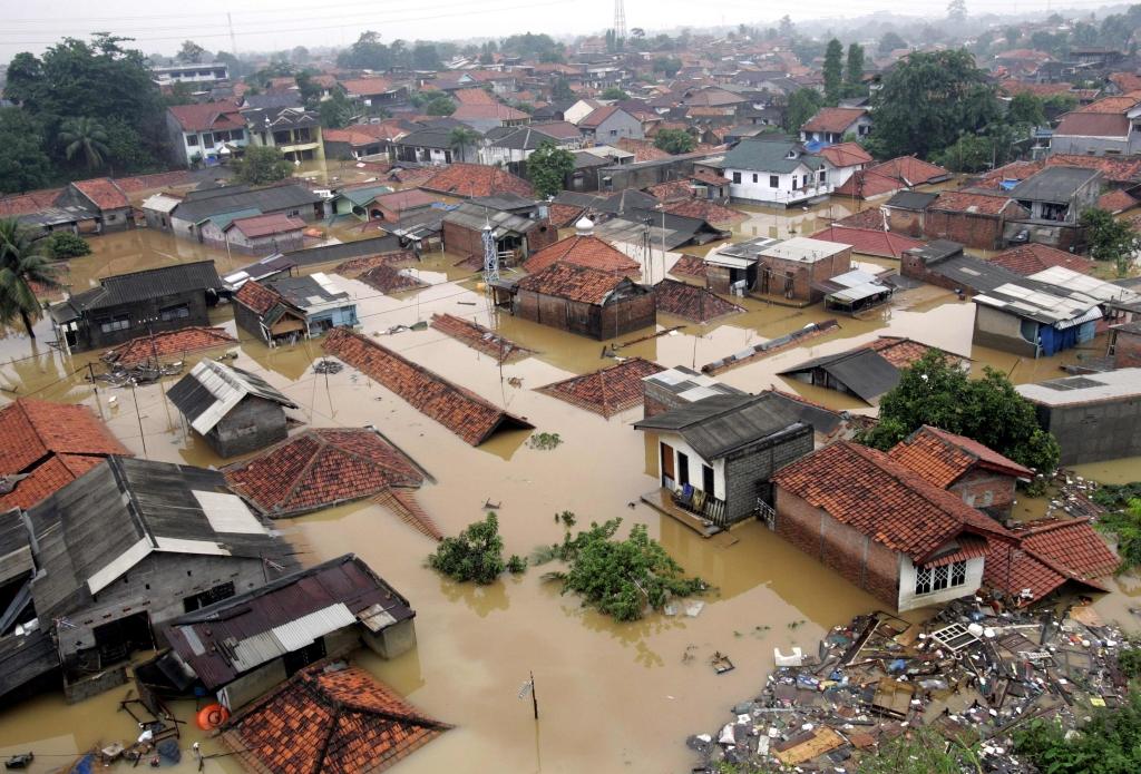 L'alluvione del 2007 a Jakarta